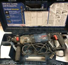 USED Bosch Bulldog Xtreme 11255VSR Corded Rotary Hammer Drill With Case
