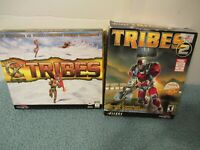 Lot of Tribes andTribes 2 PC Game Windows 95/98/2000 Sierra Dynamix