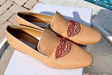 NIB $540 STELLA McCARTNEY Scarpa Tess Womens Tatami Smoking Shoes 40 Embellished