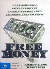F7 BRAND NEW SEALED Free Money (DVD, 2005) Marlon Brando Charles Sheen