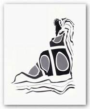 Abstract Madonna Henry Porter African American Art Print 20x26