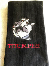 Personalized Monogrammed Disney Thumper Hand Towel  Made To Order
