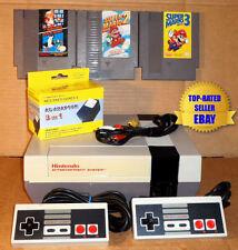 Nintendo NES Console Bundle + Super Mario Bros 1 2 & 3 - BEST PINS - Guaranteed