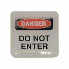Case Sticker Danger Do Not Enter