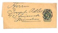 T80 1902 GB Munich Germany Printed Matter Postal Stationery {samwells-covers}PTS
