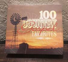100 Country Gospel Favorites, 5 disc set  2009  2009 New
