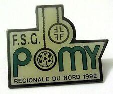 Pin Spilla F.S.G. Pomy - Regionale Du Nord 1992 Ginnastica Artistica Anelli