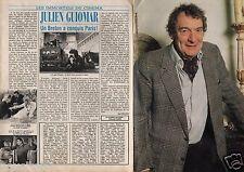 Coupure de presse Clipping 1986 Julien Guiomar  (4 pages)
