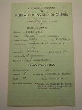 SCHEDA ASS. NAZ. PER MILITARE REGIO ESERCITO GUARDIA DI FINANZA 1940-45 C10-224