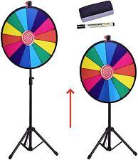 Glücksrad Spielzeuge für Lotteriespiele Glückspiel Preisrad Höhenverstellbar