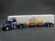 Ertl Truck Hauler Lowboy John Deere Crawler Tractor 1/64 Scale Diecast Toy Show