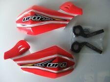 UFO Red Hand Guard Motocross Enduro Handguards CR CRF450 CR250 XR XR400 CRF 250