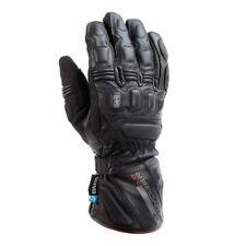 Oxford Voyager Waterproof Winter Motorbike Motorcycle Gloves Black Visor Wipe