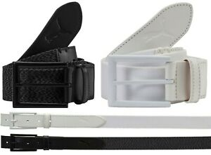 Puma Golf Fusion Stretch Hybrid Belt - RRP£35 - Black or White - W28 - W42