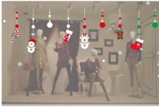 Large Cute Christmas Window / Wall Stickers / Christmas Window Decorations/Decal