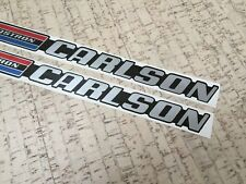Glastron Carlson set of two engine cover decals + extra decal CVX-20 and other