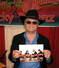 MICKY DOLENZ DIRECT TO YOU!  THIS  8x10 (#8) SIGNED YOUR NAME! * THE MONKEES