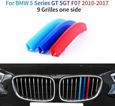 for BMW 5 Series GT 5GT F07 10-17 Front Grille Cover Insert Trim Clips(9 Grilles