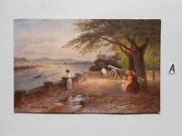 Postkarte Ansichtskarte Sachsen.Der Alte Zoll