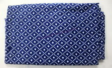 Indigo Blue Fabric Hand Block Print Handmade Running Fabric Cotton 5 Yard SG_487