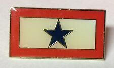SERVICE STAR LAPEL PIN HAT TAC NEW