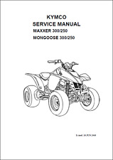 kymco people s 250 scooter service manual