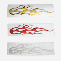 Individualized Flame 3D Car Body Reflective Sticker Graphics Decals Accessories