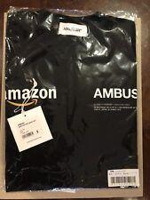 AMBUSH X AMAZON COLLAB AW18 Black T Shirt 3L LARGE JAPAN