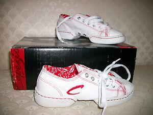 Capezio Spirit Dance Sneakers Adult DS17 White New In Box