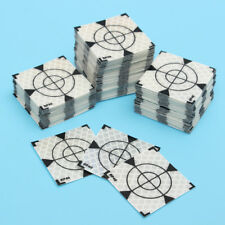 50pcs 40x40mm Reflector Sheet Reflective Tape Target Widely Used In Enginee