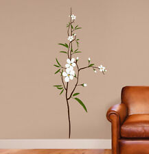 "Flower - Branch -  Wall Decal - Deco Art Sticker Mural - Size: 66""x27"""