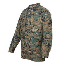 Tru-Spec Combat Shirt Einsatzhemd Hemd Militär Tarnmuster digital woodland