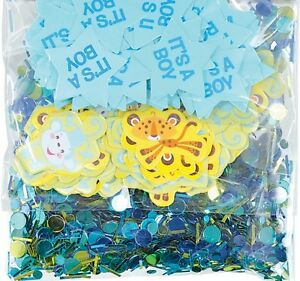 It's A Boy Baby Shower Blue Baby Party Table Confetti Decoration 1-5pk