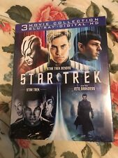 Star Trek Trilogy Collection (Blu-ray, 3-Disc Set, 2016) Brand New with Slip