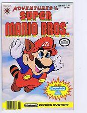 adventures of Super Mario Bros. #1 Valiant Pub 1991