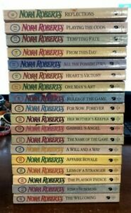 Vintage Nora Roberts Romance Paperbacks Language of Love Series 18 Books