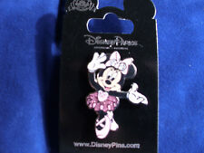 Disney * MINNIE * Ballerina - Sparkle Pink Tutu * New on Card Trading Pin
