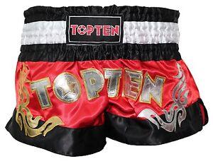 "Top Ten- Kickboxing Shorts ""WAKO"". rot. Muay Thai. Kickboxen. MMA. K1."