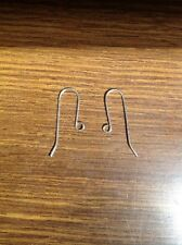 925 Sterling Silver Earring Hooks, 1 Pair