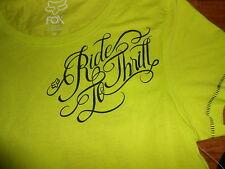 Fox Racing Shirt Womens Juniors Size XS