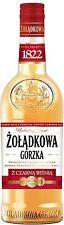 6 Flaschen Zoladkowa Gorzka Black Cherry Wodka 34% Vol. Polnischer Vodka a 500ml