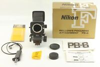 【N MINT in Box】 Nikon Bellows PB-6 Focusing Attachment + AR-10 from JAPAN