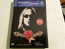 TOM PETTY & HEARTBREAKERS - PBS SOUND STAGE LIVE IN CONCERT 2005 2 DVD SET VG/+