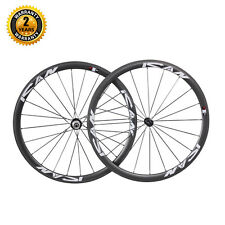 ICAN Carbon Tubular Wheels 38mm Deep UD Matt Light Aero Wheelset Only 1340g