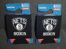 2 ct Lot Can coolies Brooklyn Nets Nba Game Tailgate Office Party