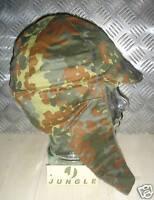 Genuine German Army Fleece Lined Flectarn Dog Hat with Ear warmers - Size 61cms