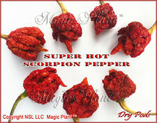 Scorpion Pepper Whole Pods Dried | Trinidad Scorpion Peppers 8oz (226.8g)
