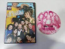 LOS SERRANO CAPITULO 1 + EXTRAS FRAN PEREA DVD ESPAÑOL