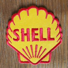 Motorcycle Biker Jacket Cafe Racer Rocker Ace Cloth Patch Badge 1955 SHELL Logo