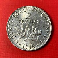 #4966 - 2 francs 1919 Semeuse Argent SUP/SPL
